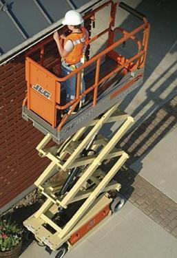 美国JLG1930ES电动剪叉式高空作业平台