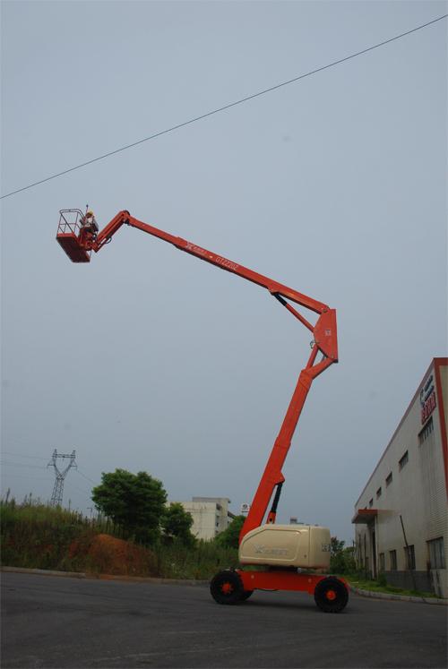 运想重工22米曲臂GTZZ22Z高空作业平台高清图 - 外观