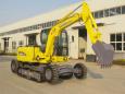 犀牛重工XNW51360-B-2L轮式履带挖掘机高清图 - 外观