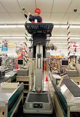 美国JLG10MSP自行式取货直立升降平台
