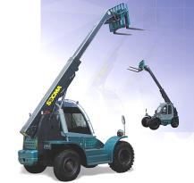 华南重工HNT35-4伸缩臂叉装车