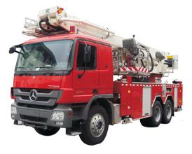中联重科ZLJ5220JXFDG32登高平台消防车高清图 - 外观