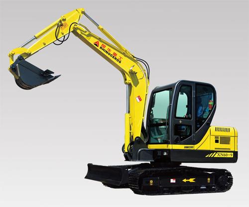 犀牛重工XN60-9挖掘机高清图 - 外观