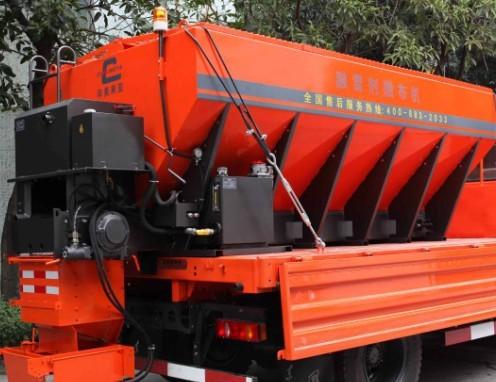 易山重工CLYR-600型撒盐撒砂机/融雪剂撒布机