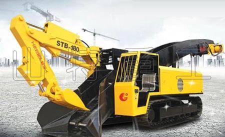 山特重工STB-180D/ZWY-180/75LD大坡度专用履带试扒渣机高清图 - 外观