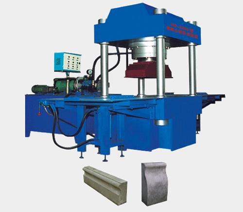 祥达XD-3000型混凝土液压成型机砖机高清图 - 外观