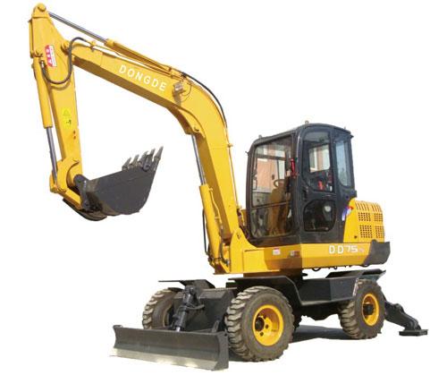 东德ddzx75-5挖掘机高清图 - 外观