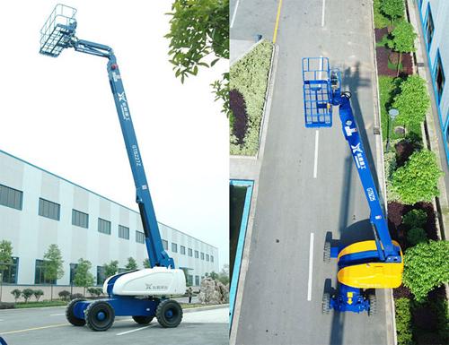 运想重工25米直臂 GTBZ25、GTBZ27Z高空作业平台高清图 - 外观