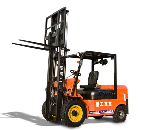 莱工NYC20(单门架)电动叉车高清图 - 外观