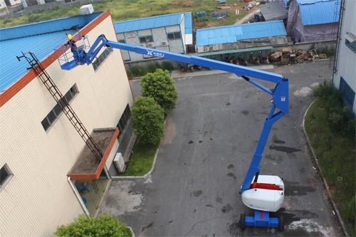 运想重工24米曲臂GTZZ24Z高空作业平台高清图 - 外观