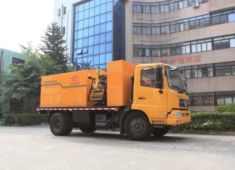 易山重工CLYB-3000II型车载式沥青路面养护车热补车沥青混合料加热保温车