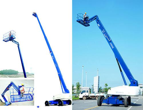 运想重工36米直臂GTBZ36、GTBZ38Z高空作业平台高清图 - 外观