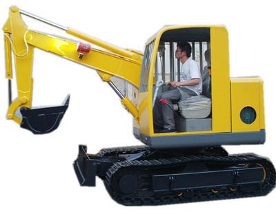 山特重工HXB-30电动防爆挖掘机高清图 - 外观