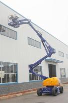 运想重工14米曲臂电动GTZZ14D高空作业平台