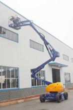 运想重工14米曲臂电动GTZZ14D高空作业平台高清图 - 外观