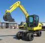 犀牛重工XN60-4L轮式挖掘机高清图 - 外观