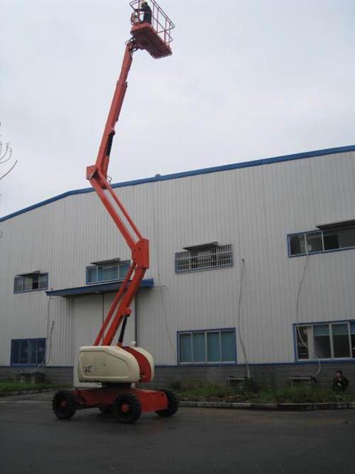运想重工20米曲臂GTZZ20A高空作业平台高清图 - 外观