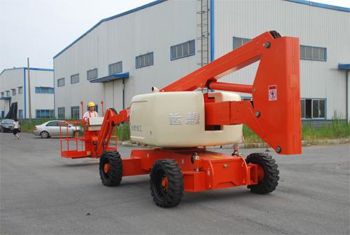 运想重工45米曲臂GTZZ45Z高空作业平台高清图 - 外观