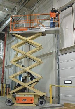 美国JLG2630ES电动剪叉式高空作业平台