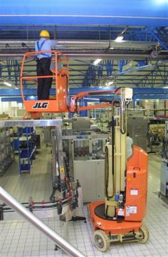 美国JLG桅柱式高空作业平台