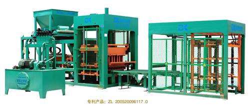 德科达DK8-15E自动砌块成型机(简易生产线)砖机高清图 - 外观