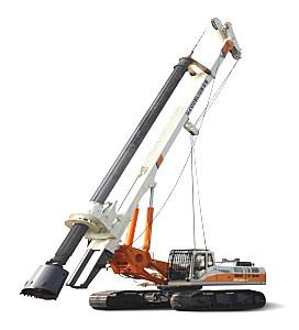 中聯重科ZR160A-1旋挖鉆機