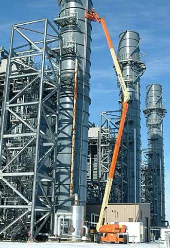 美国JLG1250AJP曲臂式高空作业平台高清图 - 外观
