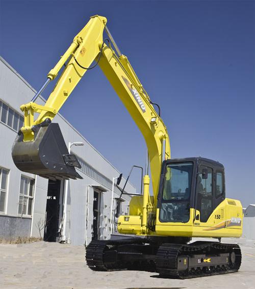 犀牛重工XN150-9挖掘机高清图 - 外观