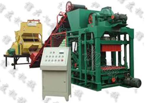 强力QTJ4-25免烧砖机
