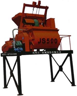 郑州天一JS型混凝土搅拌机