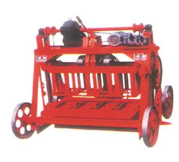 郑州天一qyj4-45型移动式砌块成型机高清图 - 外观