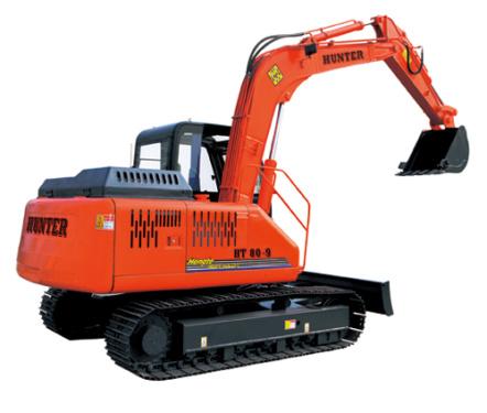 恒特HT80-9履带式挖掘机