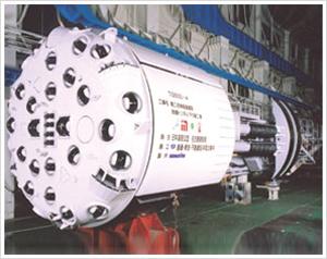 小松TBM盾构机械高清图 - 外观