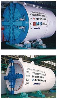 小松母子盾构机械