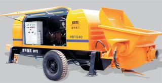 波特重工HBT桩机、隧道专用系列拖泵