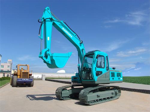 厦鑫CXX120-8挖掘机高清图 - 外观