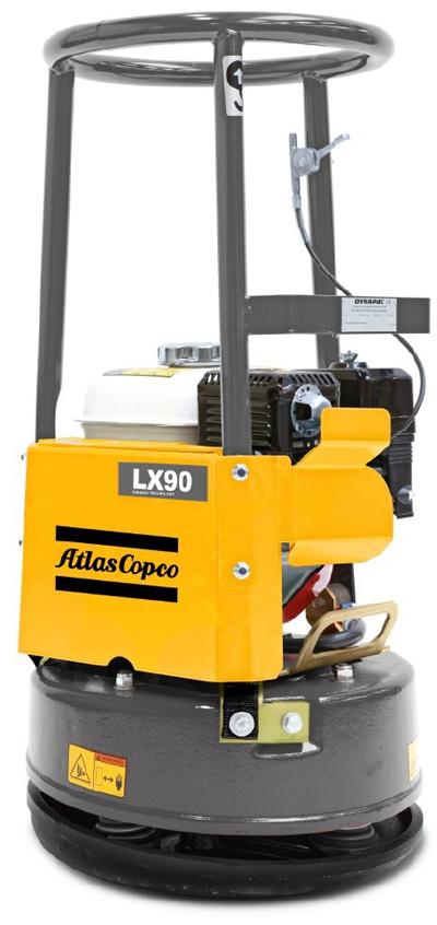 阿特拉斯·科普柯LX90单向平板夯高清图 - 外观
