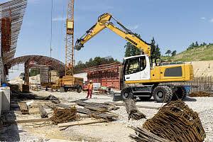 利勃海尔A 924 Litronic轮式挖掘机