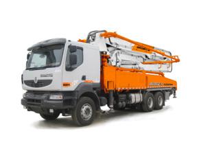 山推HJC5320THB-45C臂架式泵车高清图 - 外观