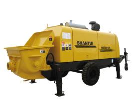 山推HBT8016R-Ⅱ拖式泵