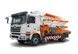 山推HJC5160THB-26米臂架式泵车高清图 - 外观