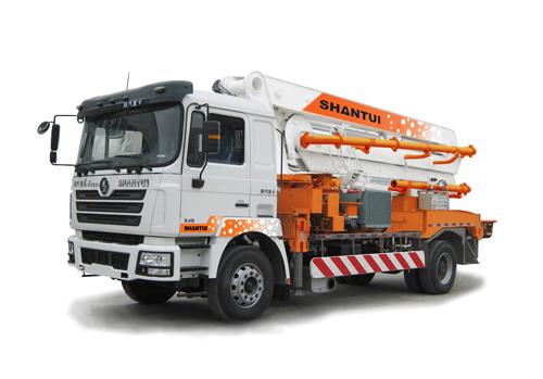 山推HJC5160THB-26米臂架式泵车