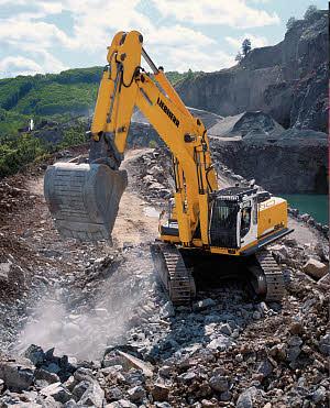 利勃海尔R 964 C Litronic履带式挖掘机