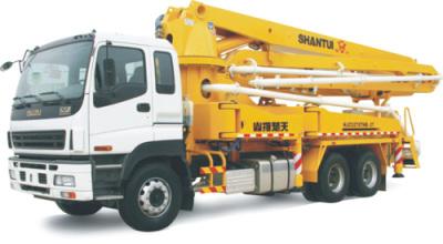 山推HJC5270THB-37C米臂架式泵车高清图 - 外观