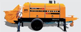 波特重工HBT柴油机力士乐系列拖泵