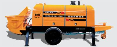 波特重工HBT柴油机力士乐系列拖泵高清图 - 外观
