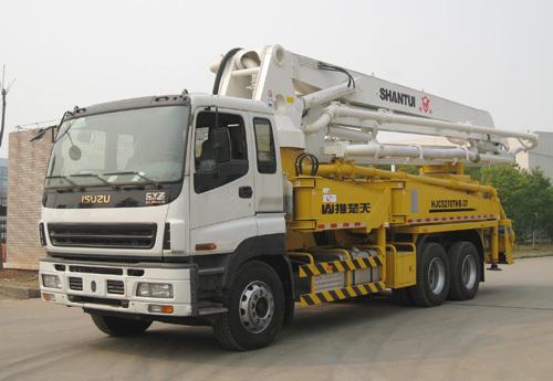 山推HJC5270THB-37米/HJC5330THB-37米臂架式泵车
