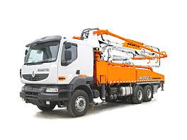 山推HJC5320THB-45米/HJC5330THB-45/HJC5331THB-45臂架式泵车