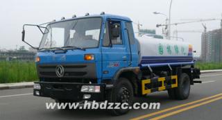 东正东风平头SZD5108GSS多功能洒水车