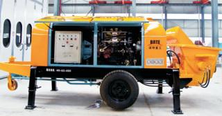 波特重工HBT电机系列拖泵(川崎油泵)